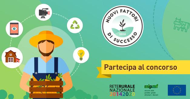 """Ismea """"Nuovi Fattori di Successo""""quinta edizione: aperta la selezione dei giovani imprenditori agricoli"""