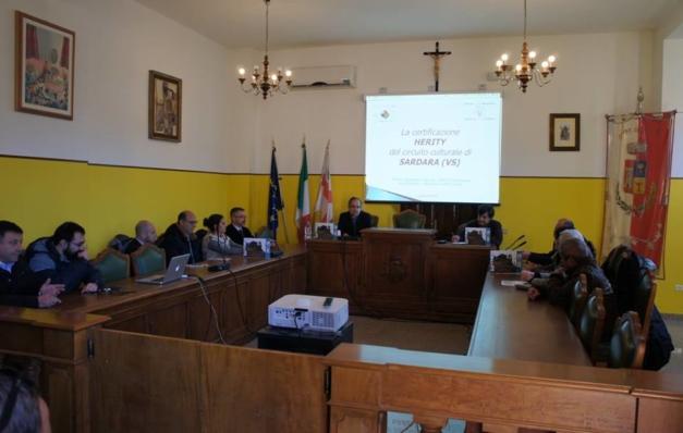 Alla Cooperativa Villa Abbas di Sardara la certificazione internazionale Herity, il bollino di qualità per i beni culturali