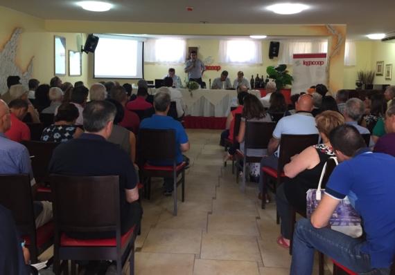 La Direzione di Legacoop Sardegna del 14 Luglio approva il bilancio economico e sociale alla presenza del Presidente nazionale Lusetti