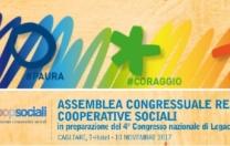 Assemblea congressuale regionale Cooperative sociali 10 Novembre