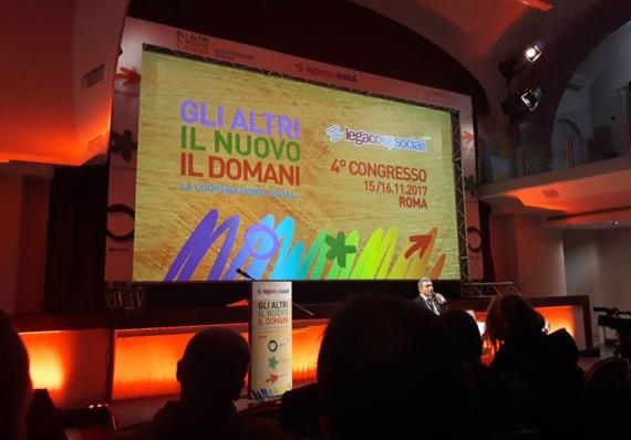 Concluso il Congresso nazionale di Legacoopsociali. Quattro Cooperatori sardi nella Direzione nazionale