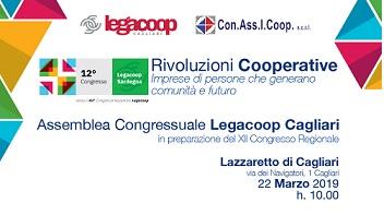 Assemblea congressuale Legacoop Cagliari