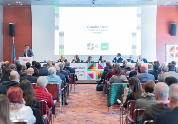 Concluso con successo il XII Congresso di Legacoop Sardegna, Claudio Atzori riconfermato Presidente