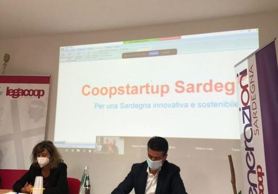 Conferenza stampa Bando Coopstartup Sardegna