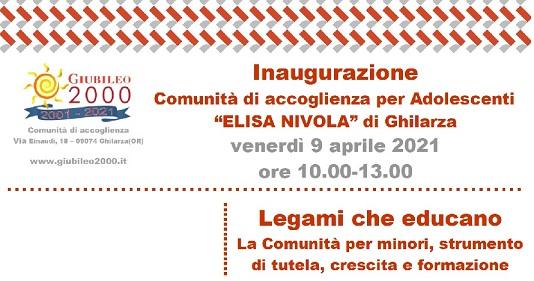 Webinar 9 aprile – Legami che educano. La comunità per minori, strumento di tutela, crescita e formazione